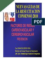 Factores de Riesgos Cardiovasculares 2010