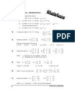 0 Ejercicios Matrices