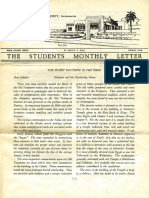 Hall, Manly P. - Students Monthly Letter 4th Year - Secret Doctrine in the Bible Nr.05