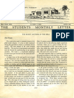 Hall, Manly P. - Students Monthly Letter 4th Year - Secret Doctrine in the Bible Nr.10