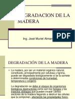2.2 Degradacion de La Madera