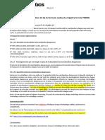 2016-221 - Rédaction de La Section 14 de La Formule Cadre Du Chapitre 5.4 de l'IMDG