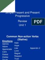 Common Non-Action Verbs