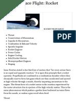 Basics of Space Flight