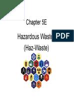 Chapter 5e Hazardous Waste
