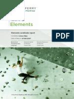 Cohen Max Elements Report (1)