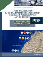 Atlas Des Potentiels Marins Et Côtiers