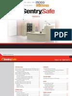 Sentry Safe g1459de Dual Lock Electronic Gun Safe Catalog