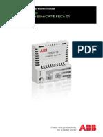 ES FECA-01 EtherCAT Adapter Module UM C Updatenotice