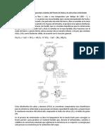 Relación Entre La Temperatura Máxima Del Frente de Llama y La Estructura Sinterizada