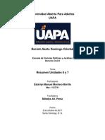 DC2, Resumen Unidades 6-7