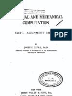Graphical and Mechanical Computation- Alignment Charts, Lipka
