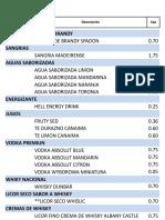 Lista de Precio Modificada 9-09