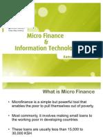 Kamal Budhabhatti on Microfinance and IT at Tandaa Symposium on Technology for Social Good