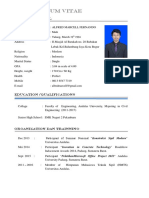 CV Alfred Marcell Fernando ST-1