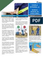 Charla Integral N°10 Manejo Manual de Cargas.pdf