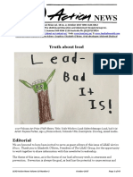 Truth About Lead Newsletter Featuring Dr Lambrinidou Ten Myths About Lead