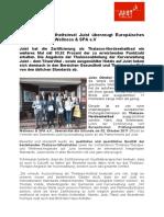 +++ Pressemeldung _Thalasso-Insel Juist überzeugt Europäische Prüfungsinstitut Wellness & SPA +++