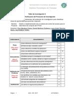 Actividad 1 - Evaluación Del Protocolo