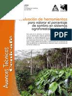 AVT0472 (Evaluación de Herramientas Para Valorar El Porcentaje de Sombra en Sistemas Agroforestales Con Café)