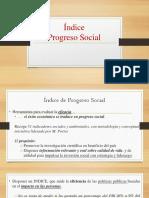 Índice Progreso Social