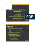 Litwin ASP Log in Controls and Security Nice