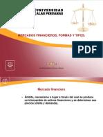 Mercados Financieros, Formas y Tipos