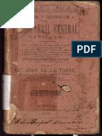 Libro Ferrocarril Central Mexicano Internacional Mex 1888