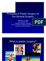 Principles of Plastic Surgery For