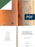 LIVRO - INTRODUÇÃO À FENOMENOLOGIA - Angela  Ales Bello.pdf