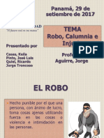 Presentacion Robo Calumnia e Injuria