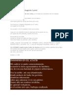 Dos Poemas de Augusto Lunel
