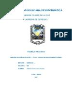 Analisis Arts 1 - 13 CPP