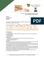 Cotizacion Trans Salvatierra Transporte de Cañerias 10 Plg
