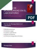 Folio 3-Normas de Bioseguridad en El Laboratorio