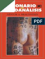 Ficcionario de Psicoanalisis - Braunstein Nestor A
