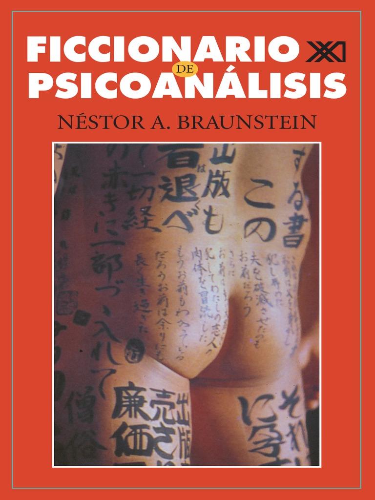 Ficcionario de Psicoanalisis - Braunstein Nestor A 80745f6c1bc