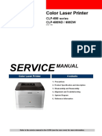 Samsung CLP680ND Service Manual