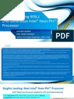 HC27.25.710 Knights Landing Sodani Intel
