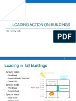 2. Loading Action on Buildings