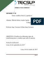 química para mineria