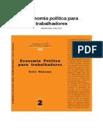 Economia Politica Para Trabalhadores Sofia Manzano