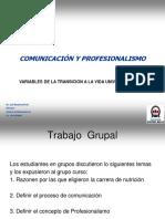CLASE de Fonoaudiología Comunicación 2014-PROF