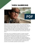Stephen Hawking g