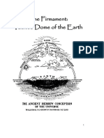 Firmament Vaulted Dome of the Earth