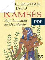 Jacq, Christian - Ramses 05 - Bajo la acacia de occidente.epub