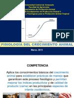 Fisiología Del Crecimiento Animal 2015