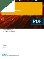 How to Guide%3a SAP Fiori Extensibility - Addind Custom Fields in UI.pdf