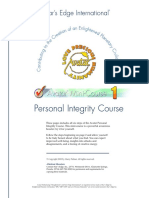 Personal Integrity Course