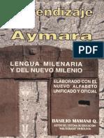Aprendizaje Del Aymara Idioma Milenario